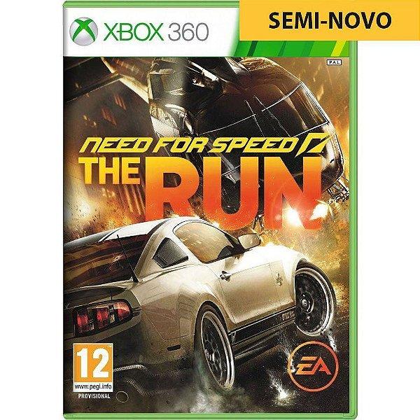 Jogo Need For Speed The Run - Xbox 360 Seminovo