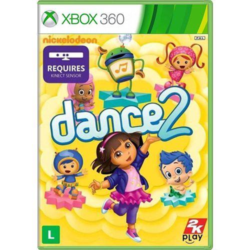 Jogo Nickelodeon Dance 2 - Xbox 360 Seminovo