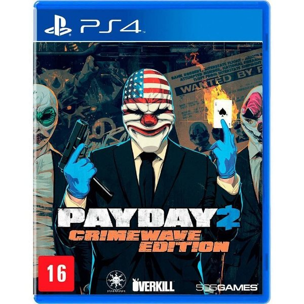 Jogo Payday 2 Crimewave Edition - PS4