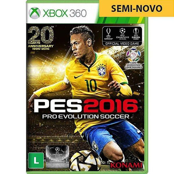 Jogo PES 2016 - Xbox 360 Seminovo