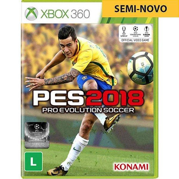 Jogo PES 2018 - Xbox 360 Seminovo