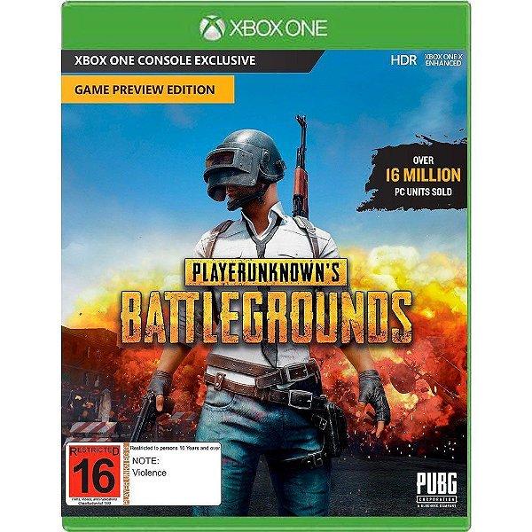 Jogo Playerunknowns Battlegrounds - Xbox One