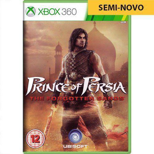 Jogo Prince of Persia The Forgotten Sands - Xbox 360 (Seminovo)