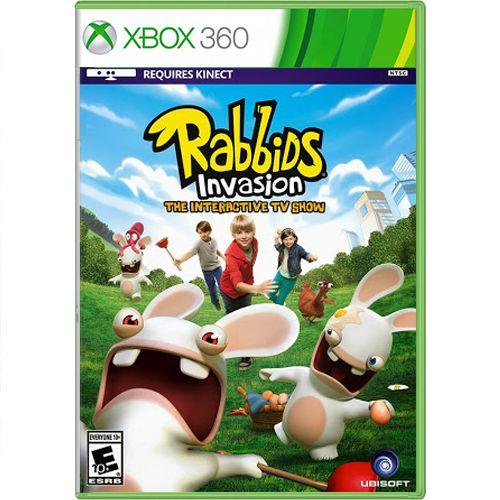 Jogo Rabbids Invasion - Xbox 360 (Seminovo)