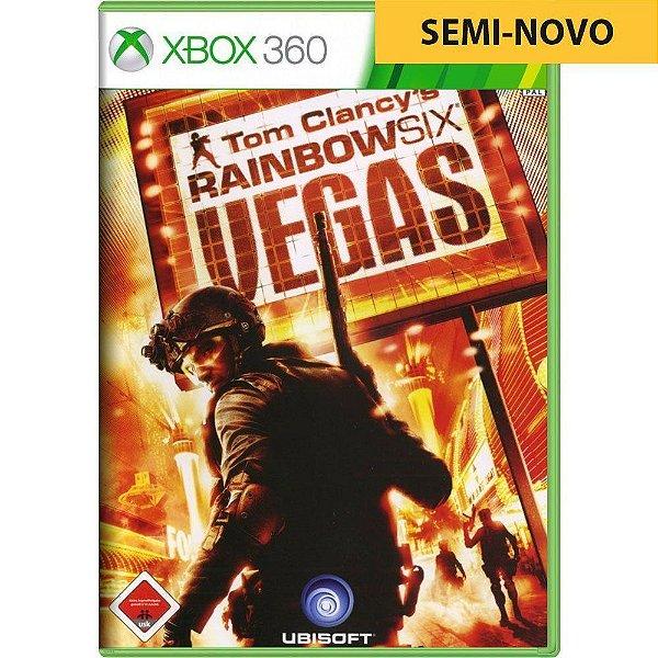 Jogo Rainbow Six Vegas - Xbox 360 (Seminovo)