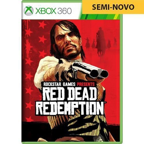 Jogo Red Dead Redemption - Xbox 360 (Seminovo)