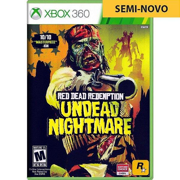 Jogo Red Dead Redemption Undead Nightmare - Xbox 360 Seminovo