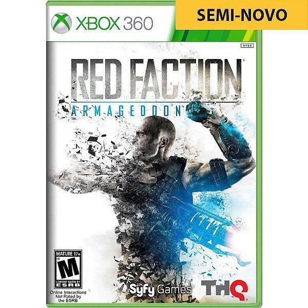 Jogo Red Faction Armageddon - Xbox 360 (Seminovo)