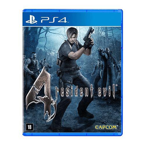 Jogo Resident Evil 4 - PS4 Seminovo