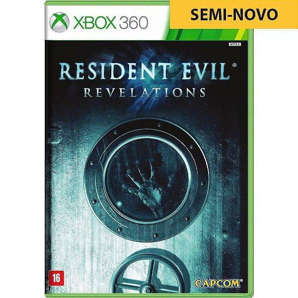 Jogo Resident Evil Revelations - Xbox 360 (Seminovo)