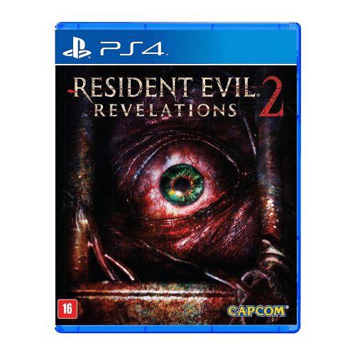 Jogo Resident Evil Revelations 2 - PS4 Seminovo