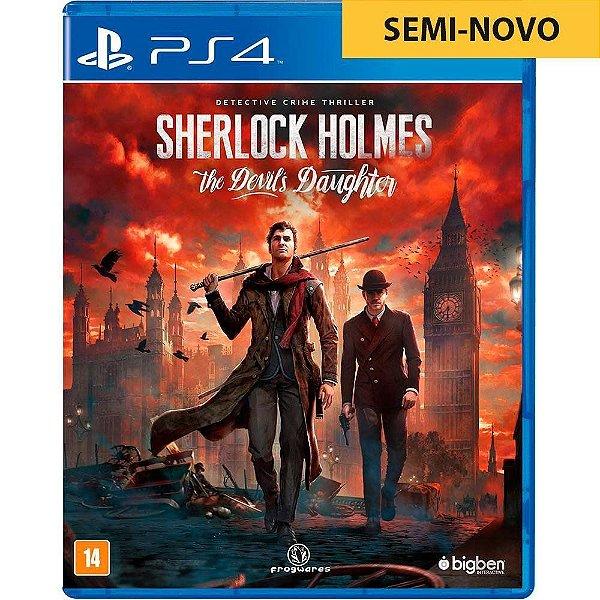 Jogo Sherlock Holmes The Devils Daughter - PS4 Seminovo