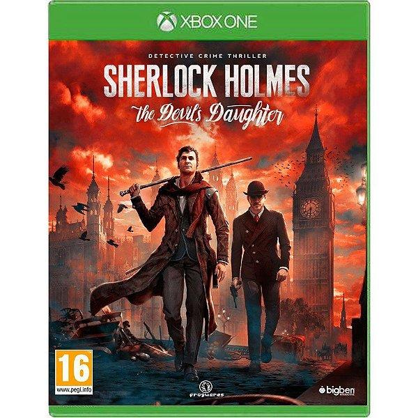 Jogo Sherlock Holmes The Devils Daughter - Xbox One