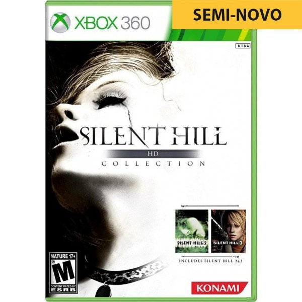 Jogo Silent Hill HD Collection - Xbox 360 (Seminovo)