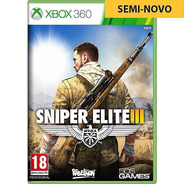 Jogo Sniper Elite III - Xbox 360 Seminovo