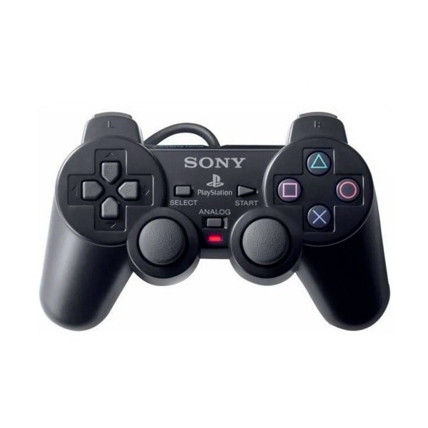 Controle DualShock 2 Sony Com Fio - PS2 (Seminovo)