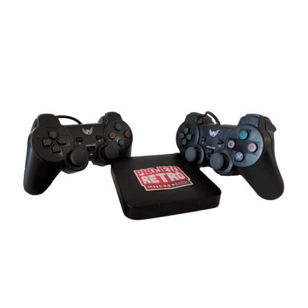 Console Fliperama Box Retrô 10 mil Jogos + 2 Controles