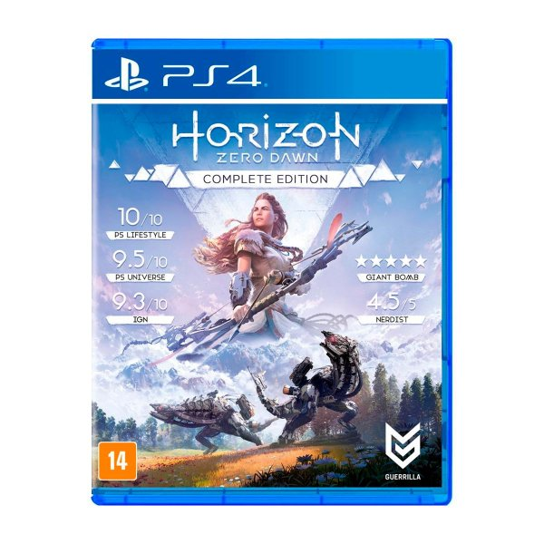 Jogo Horizon Zero Dawn Complete Edition - PS4  (Seminovo)