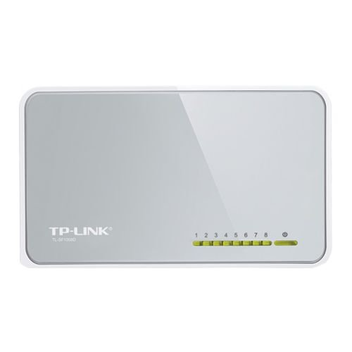 Switch 8 Portas TP-Link 10/100 Mbps TL-SF1008D (Seminovo)