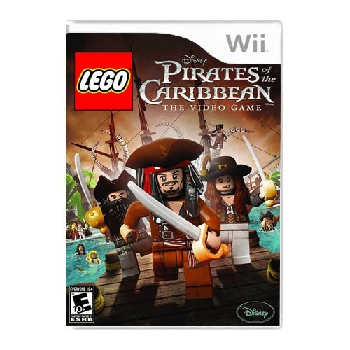 Jogo LEGO Pirates of the Caribbean PAL - Wii (Seminovo)