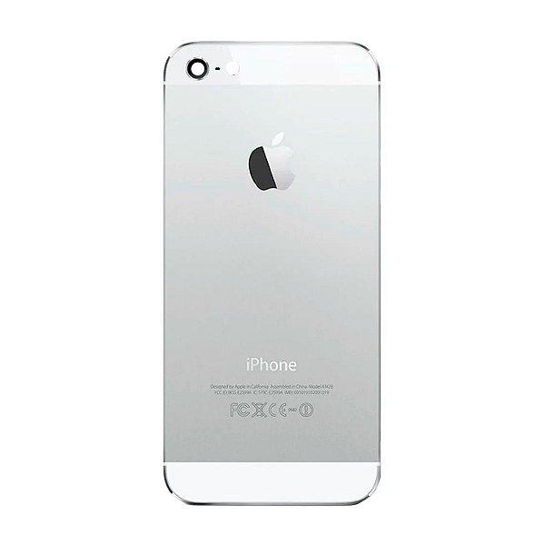 Pç Apple Tampa Traseira iPhone 5 Branco com Estrutura