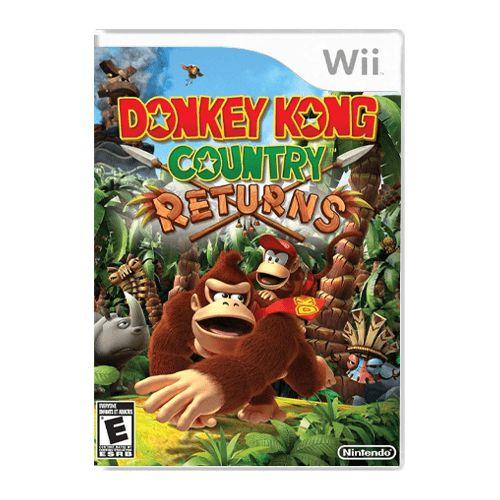 Jogo Donkey Kong Country Returns - Wii (Seminovo)