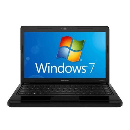 """Notebook Compaq Presario CQ43 Intel Pentium P6200 RAM 4GB SSD 120GB LED 14"""" Seminovo"""