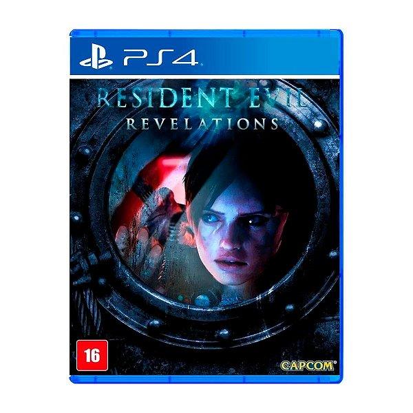 Jogo Resident Evil Revelations - PS4 Seminovo
