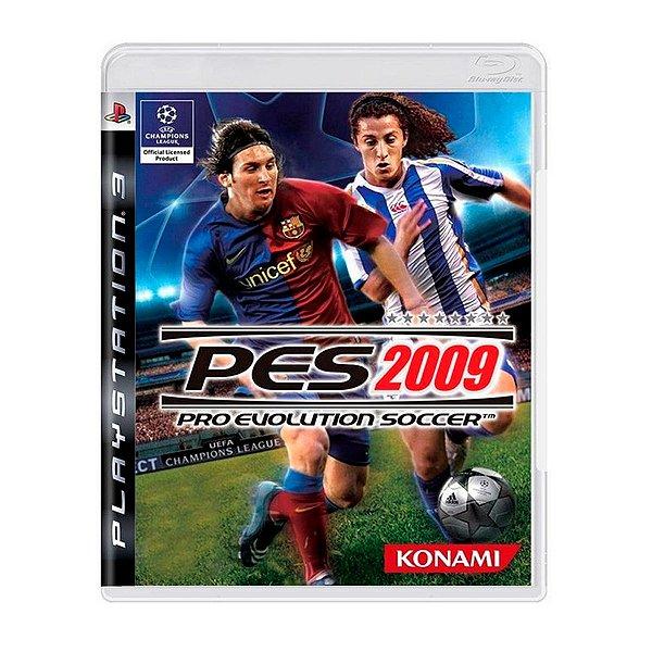 Jogo PES 2009 - PS3 Seminovo