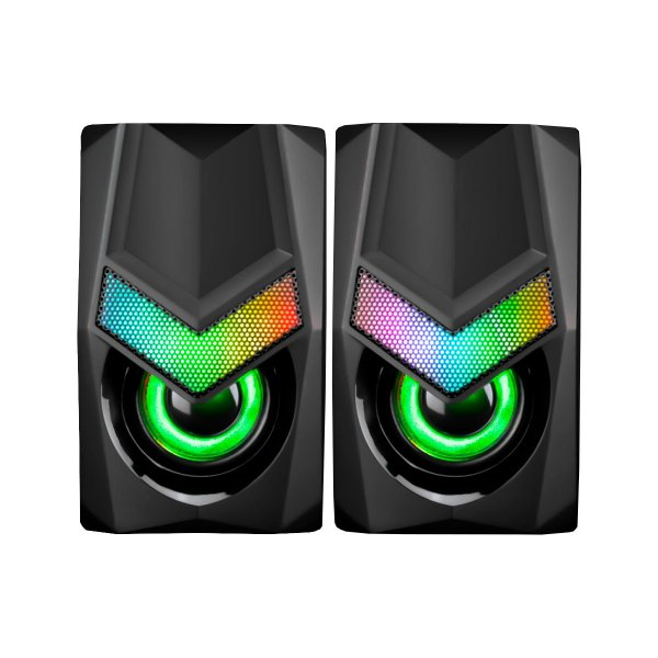 Caixa de Som Marvo Solid SG118 RGB USB - PC/ Laptop
