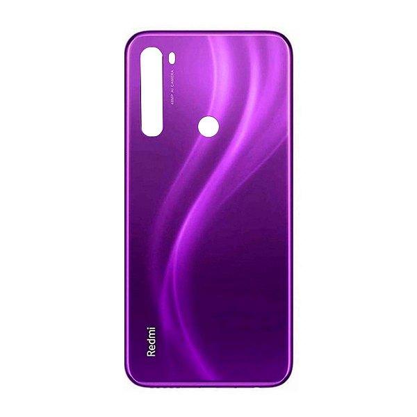 Pç Xiaomi Tampa Traseira Redmi Note 8 Roxo Vidro