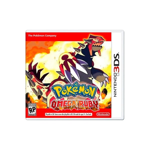 Jogo Pokémon Omega Ruby - 3DS Seminovo