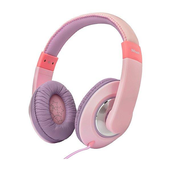 Headphone Trust For Kids Sonin Pink/Purple - PC / Celular
