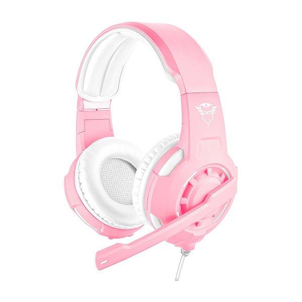 Headset Trust GXT 310P Radius Gaming Pink - PS4 / Xbox One / Switch / PC / Celular