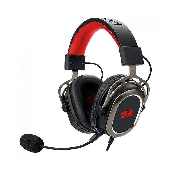 Headset Redragon Solid Helios H710 USB - PC