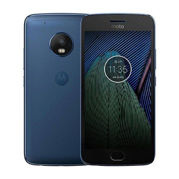 Smartphone Motorola Moto G5 Plus Dual 32GB 2GB Azul Seminovo