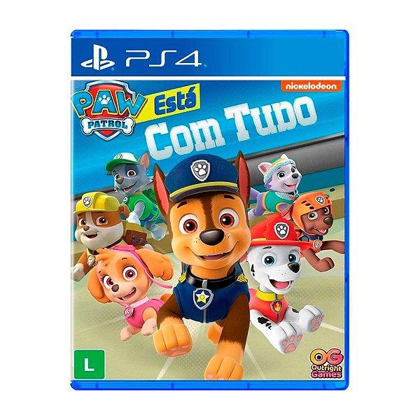 Jogo A Patrulha Canina Está com Tudo - PS4