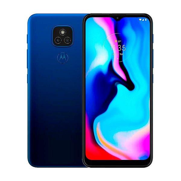 Smartphone Motorola Moto E7 Plus 64GB 4GB Azul