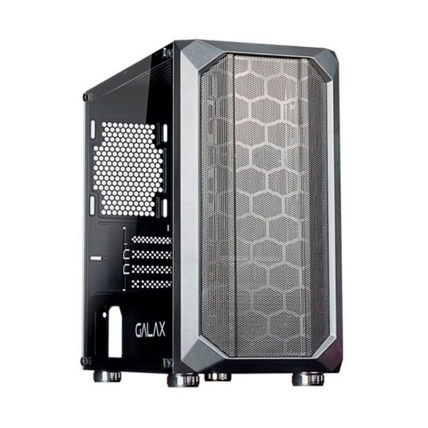 Gabinete Gamer Galax Solid Nebulosa GX700 Preto Sem Fonte