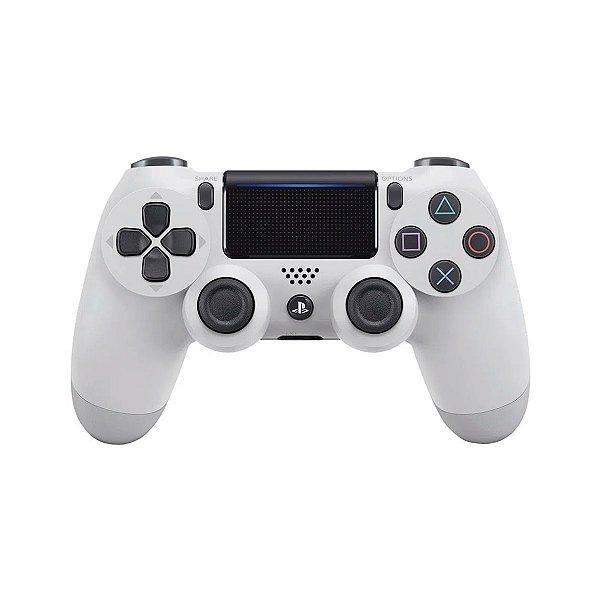 Controle DualShock 4 Branco - PS4 Seminovo