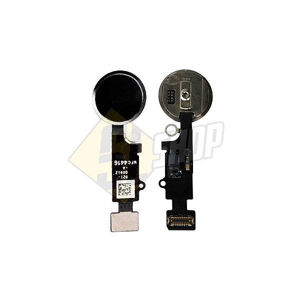 Pç Apple Flex Home iPhone 7 Plus Preto com Botão
