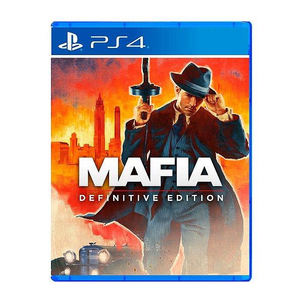Jogo Mafia Definitive Edition - PS4 Seminovo