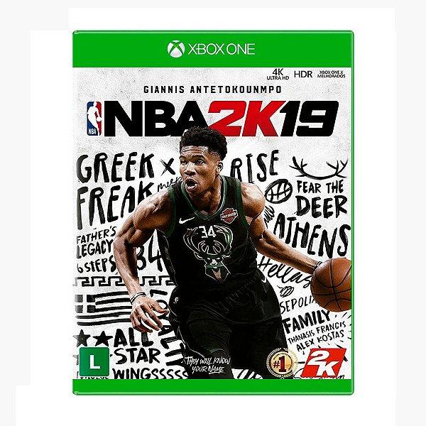Jogo NBA 2K19 - Xbox One (Seminovo)