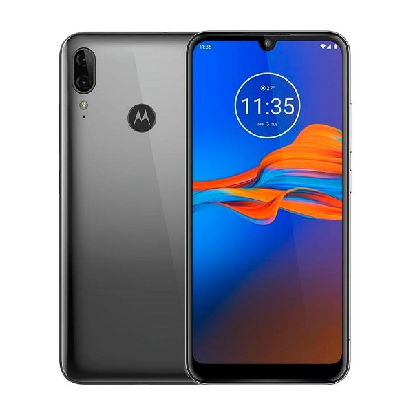 Smartphone Motorola Moto E6 Plus 64GB Cinza Seminovo