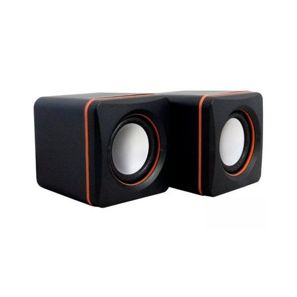 Caixa de Som Plug X Mini Speaker D-02A - PC/ Laptop