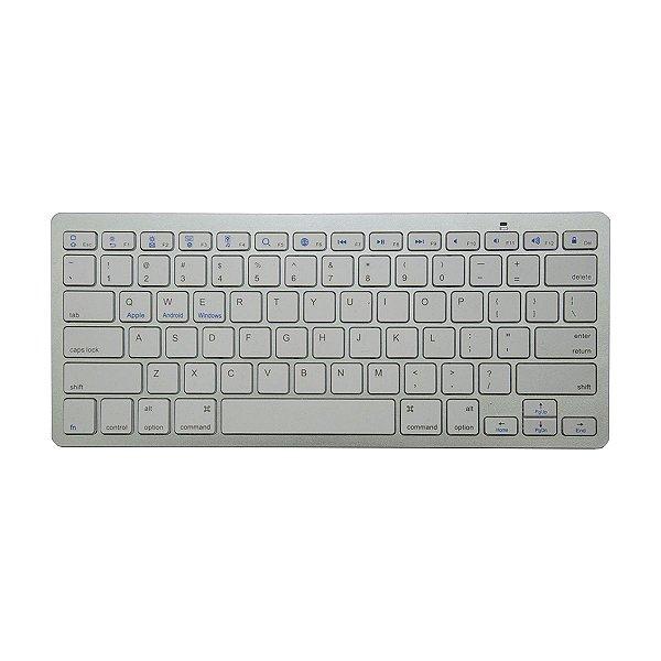 Teclado Wireless Keyboard Bluetooth Smartphone Tablet TV