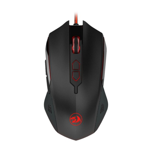 Mouse Gamer Redragon Solid Inquisitor 2 6 Botões Preto