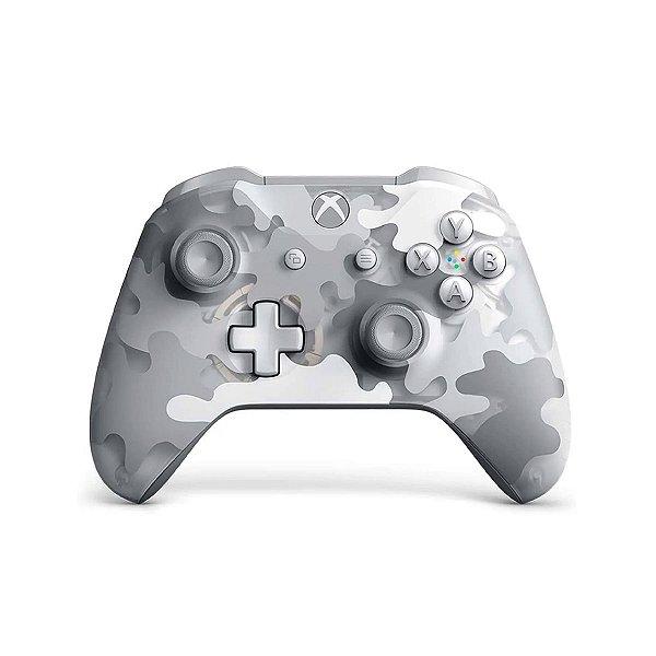 Controle Wireless Artic Camo - Xbox One