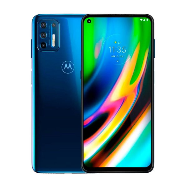 Smartphone Motorola Moto G9 Plus 128GB 4GB Azul