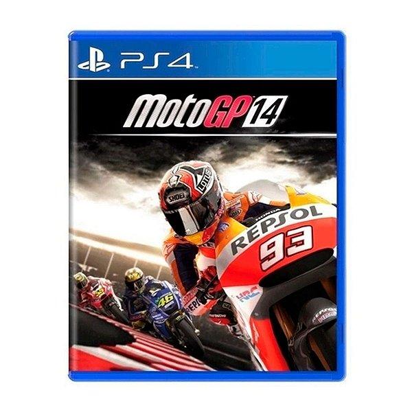 Jogo Moto GP 14 - PS4 Seminovo